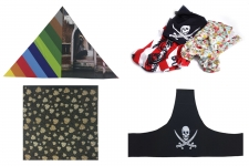 Collection de foulard publicitaire