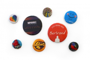 Badges Pin's personnalisables